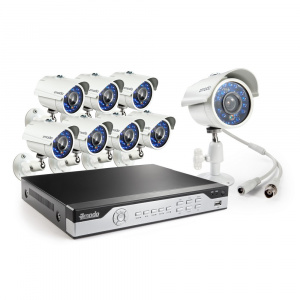 Регистратор ZM-I8Y8 (DVR/8*700TVL)IR Kit