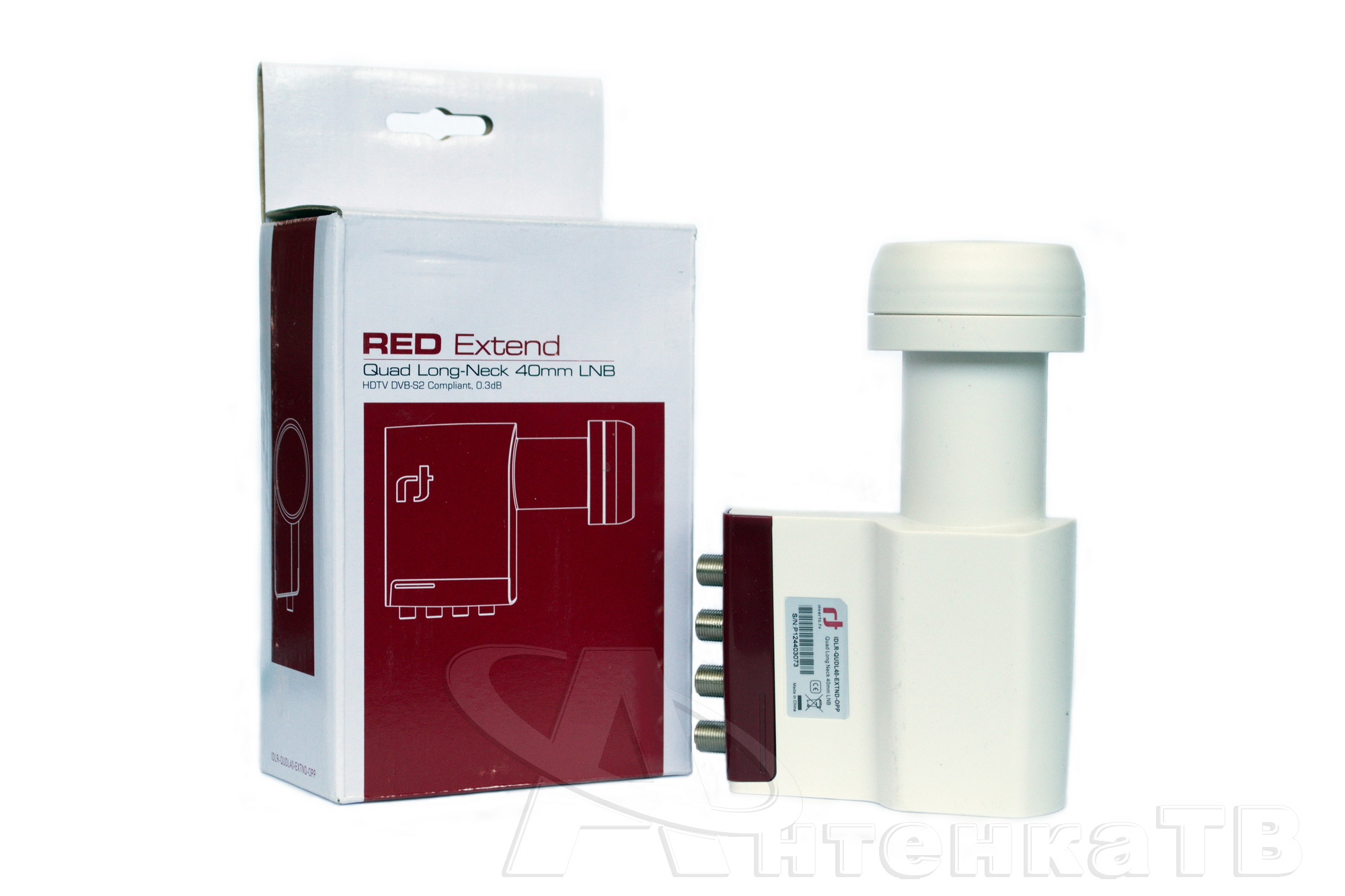 конвертер inverto red extend quad